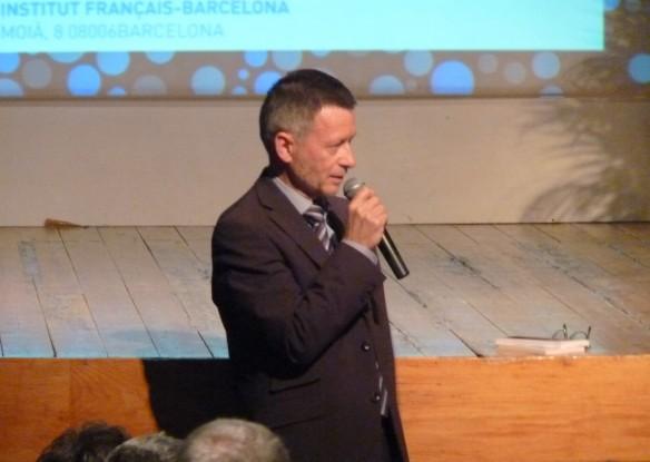 Monsieur Yannick Rascouët, directeur de l'Institut Français de Barcelone